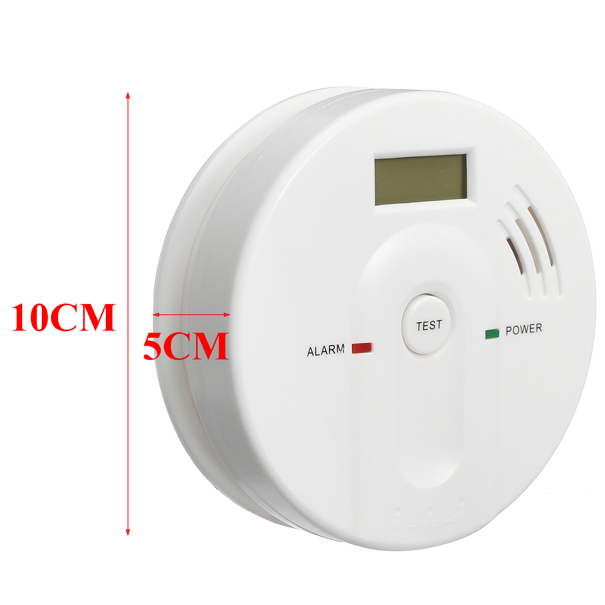 hq smoke fire alarm sensor detector security system for