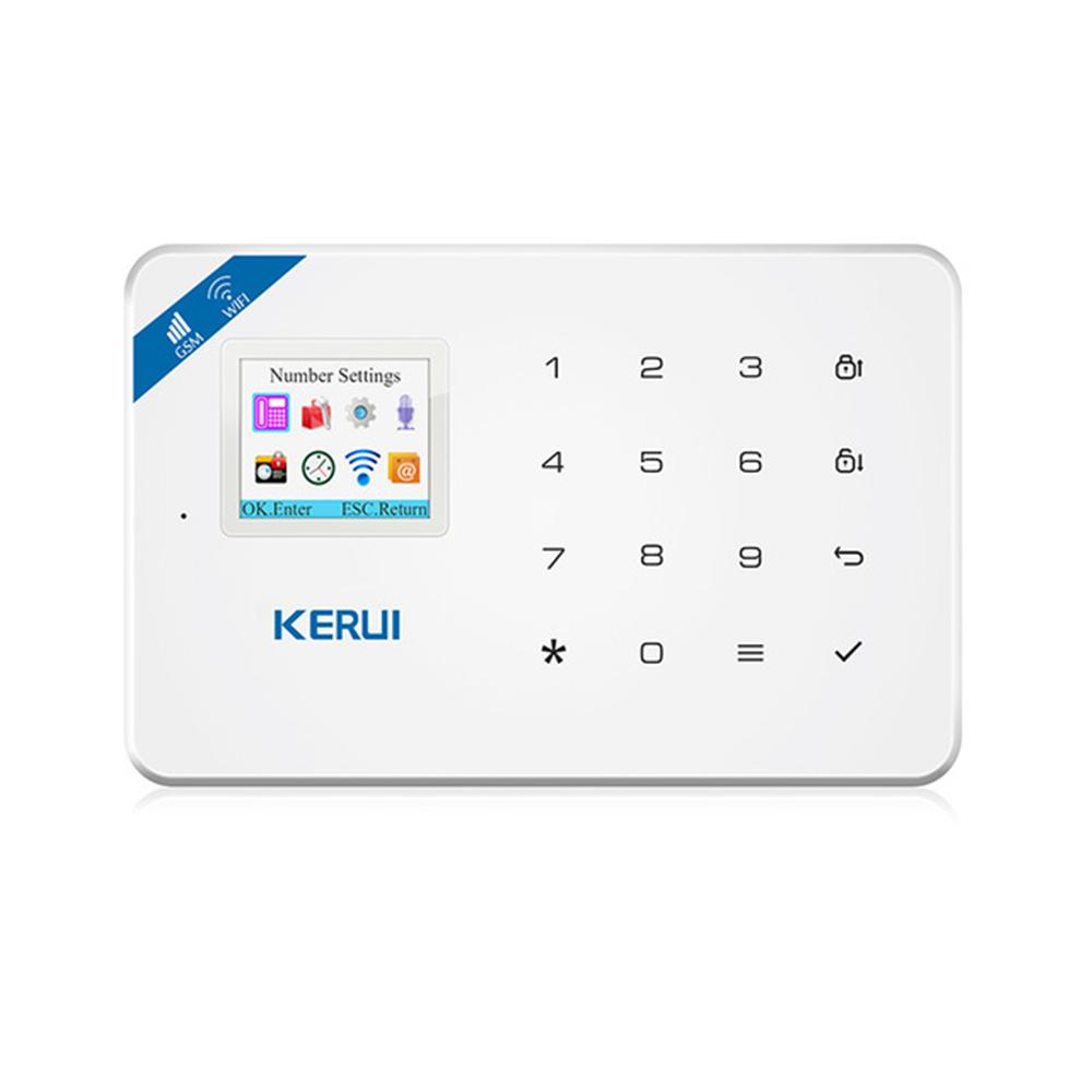 KERUI W18 WiFi GSM SMS Sistema de Alarma de Seguridad