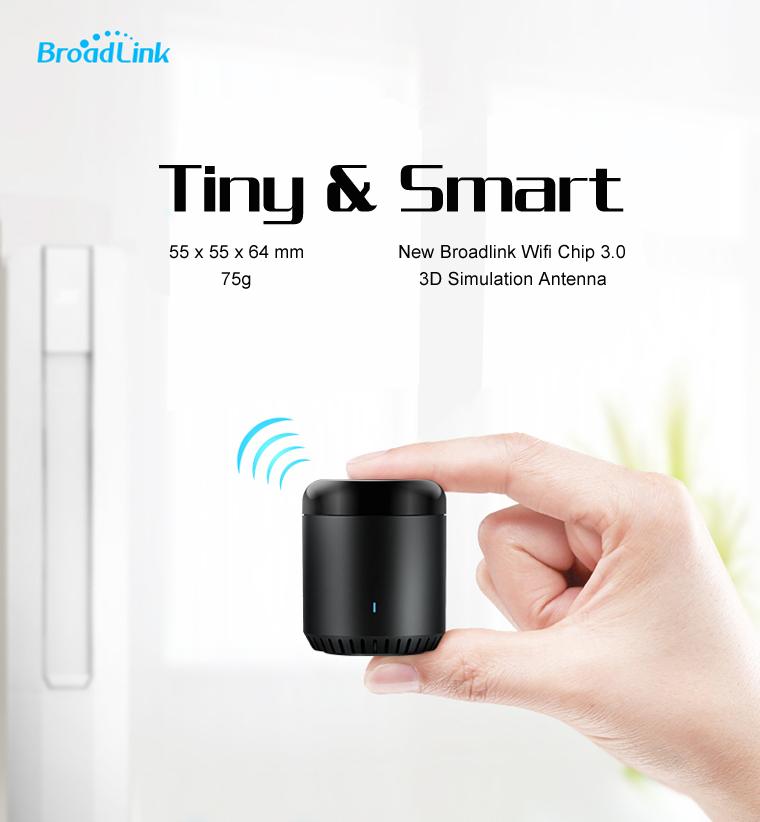 NEW Upgrade Version Broadlink RM Mini 3 Black Bean Smart Home Wifi Universal IR Smart Remote Controller