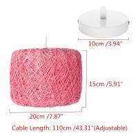 E27 Modern Pendant Light Rope Ceiling Lamp Chandelier Home ...