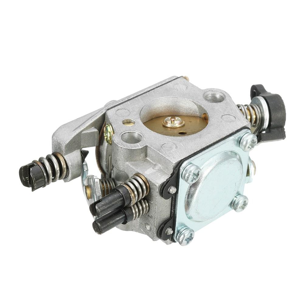 medium resolution of carburetor with fuel filter for husqvarna 51 55 chain saw 503281504 walbro wt 170