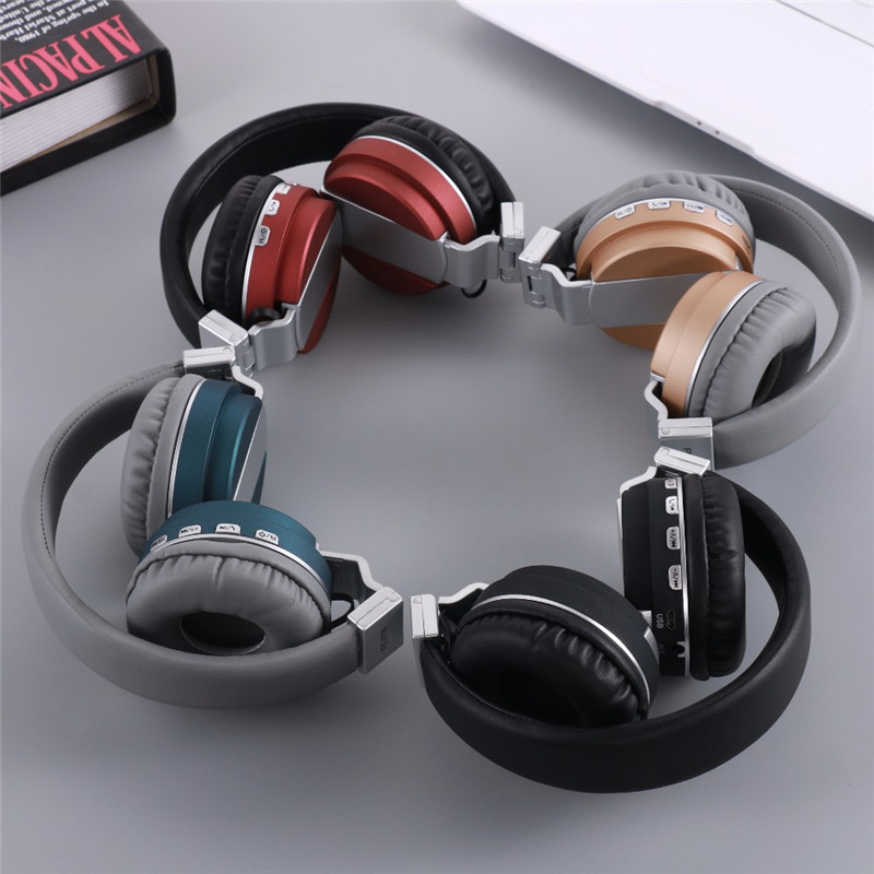 FE-018 Portable Foldable FM Radio 3.5mm NFC Bluetooth Headphone Headset with Mic for Mobile Phone 17