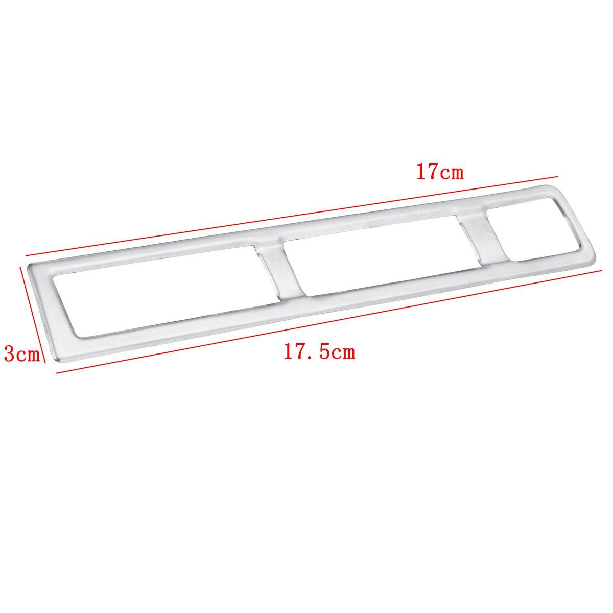 New Car Headlight Fog Light Switch Button Cover Trim