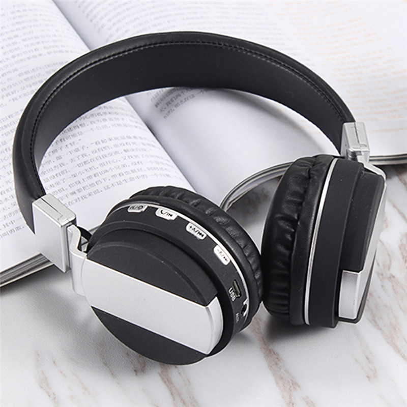 FE-018 Portable Foldable FM Radio 3.5mm NFC Bluetooth Headphone Headset with Mic for Mobile Phone 11