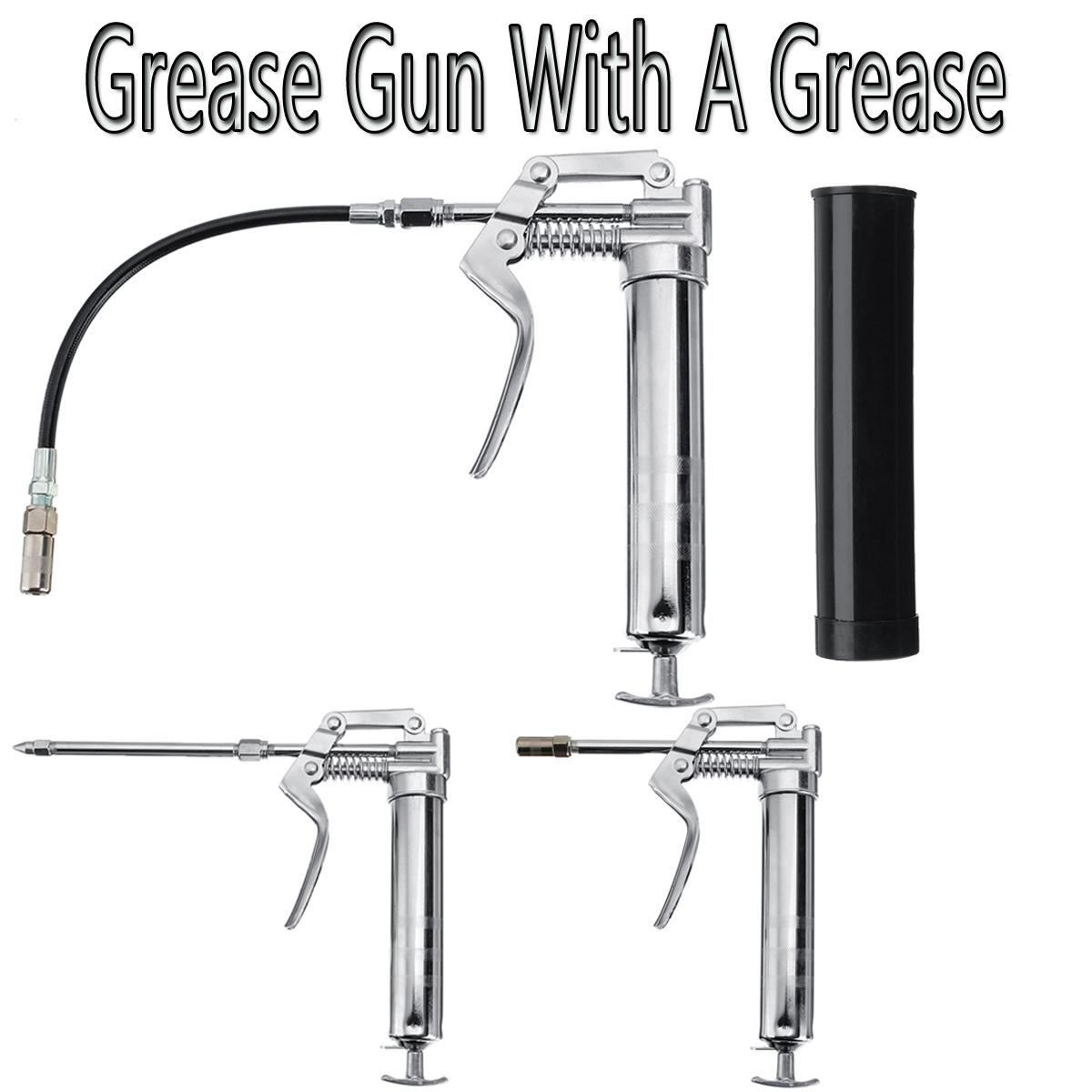 120cc professional pistol grip grease gun pistol grip tool