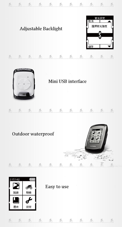 Garmin Edge 200 Outdoor Cycling GPS Wireless Waterproof