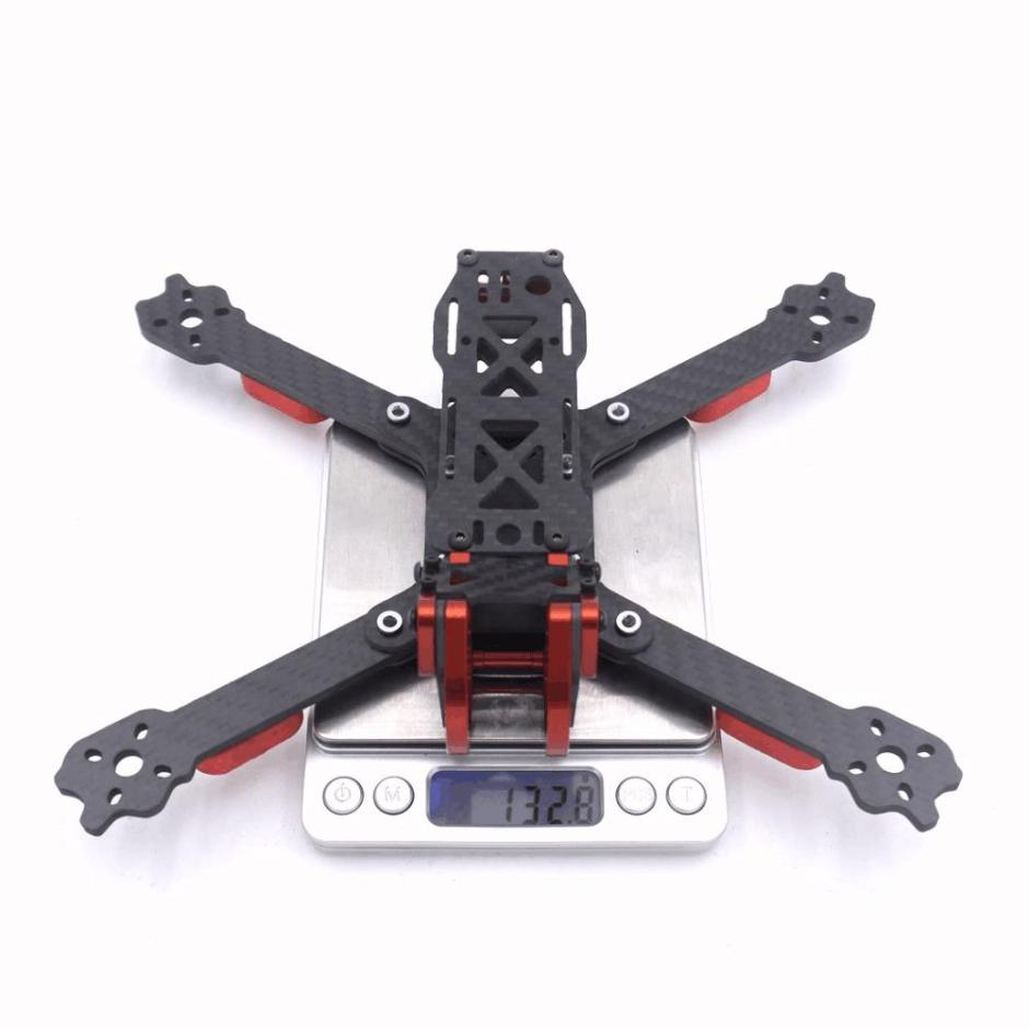 Dragon HX5 X5 220mm 5 pollici FPV Racing Frame Kit RC Drone 4mm Arm Fibra di carbonio