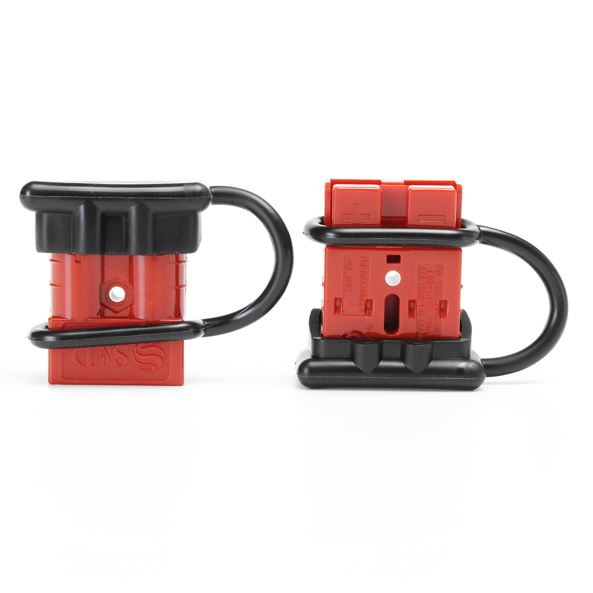 hight resolution of 2pcs 50a 600w battery quick connect disconnect wire harness plug connector kit winch trailer