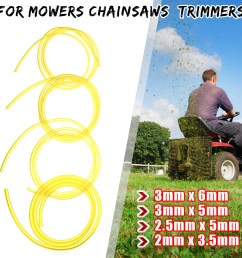 petrol fuel gas line pipe hose fuel filter mower strimmer chainsaw blower strimmer parts accessories [ 1200 x 1200 Pixel ]