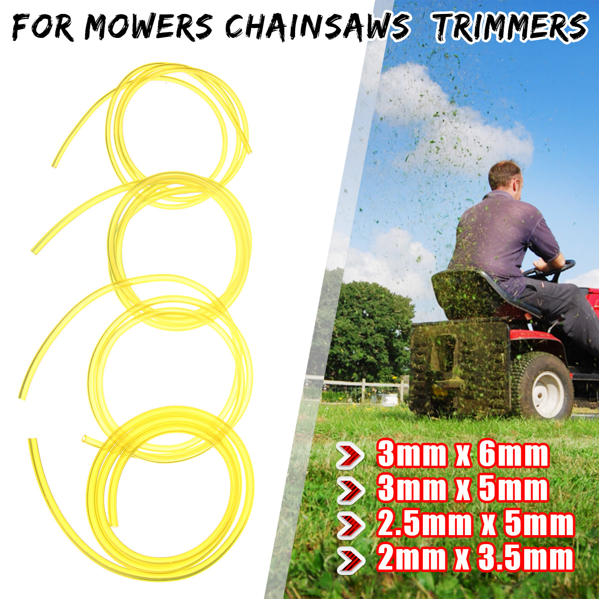 hight resolution of petrol fuel gas line pipe hose fuel filter mower strimmer chainsaw blower strimmer parts accessories