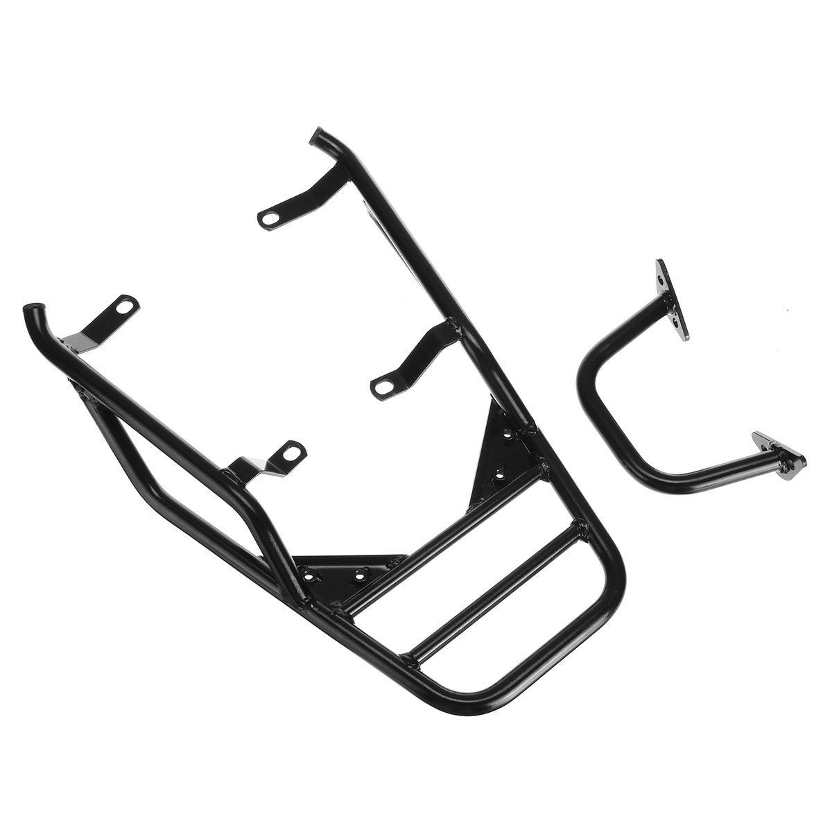 New Rear Luggage Rack with Passenger Grab Handlebar For