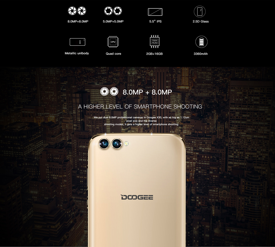 DOOGEE X30 5.5