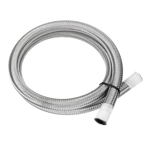 small resolution of 1m 8an an8 braided diesel hose stainless steel brake ga