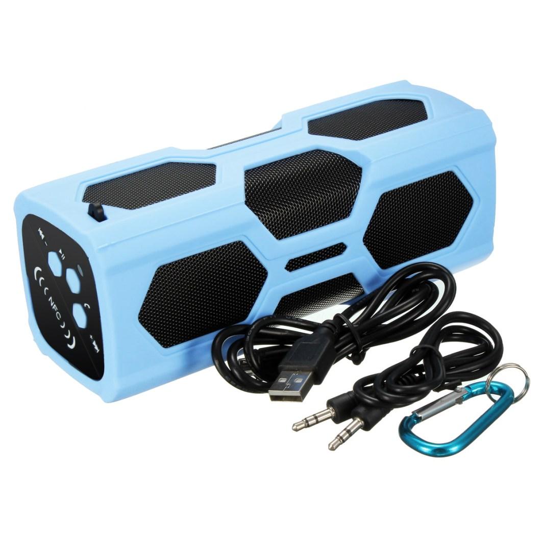 Elegiant IPX4 Waterproof Shockproof Bluetooth Speaker Portable Bass Subwoofer 15