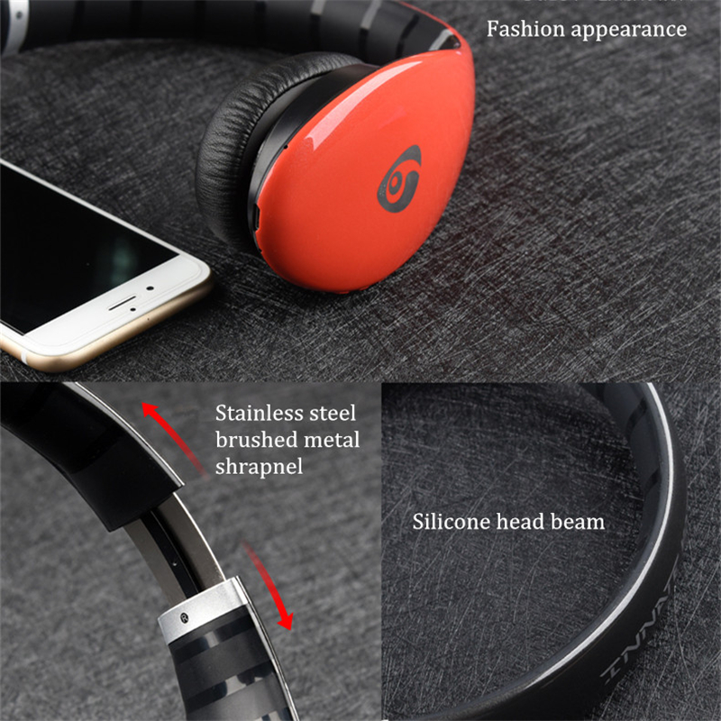 Ovleng S66 On-ear Sport Noise Reduction HiFi Stereo Heavy Bass Bluetooth Headphone With Mic 18