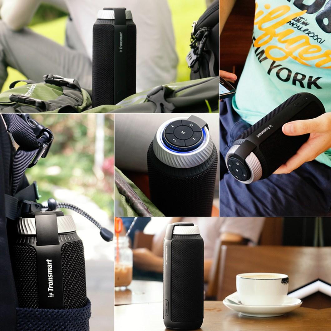Tronsmart Element T6 Portable Wireless Bluetooth Speaker 5200mAh Stereo Outdoors Speaker 16
