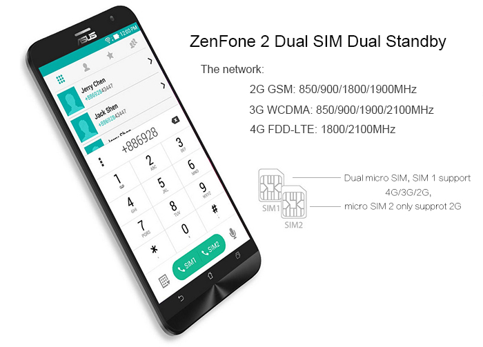 asus zenfone 2 ze551ml 5.5 inch 4gb ram 16gb rom intel