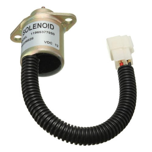small resolution of 12v fuel shutdown diesel shut off solenoid for yanmar 4tnv94l sfn 11965377950