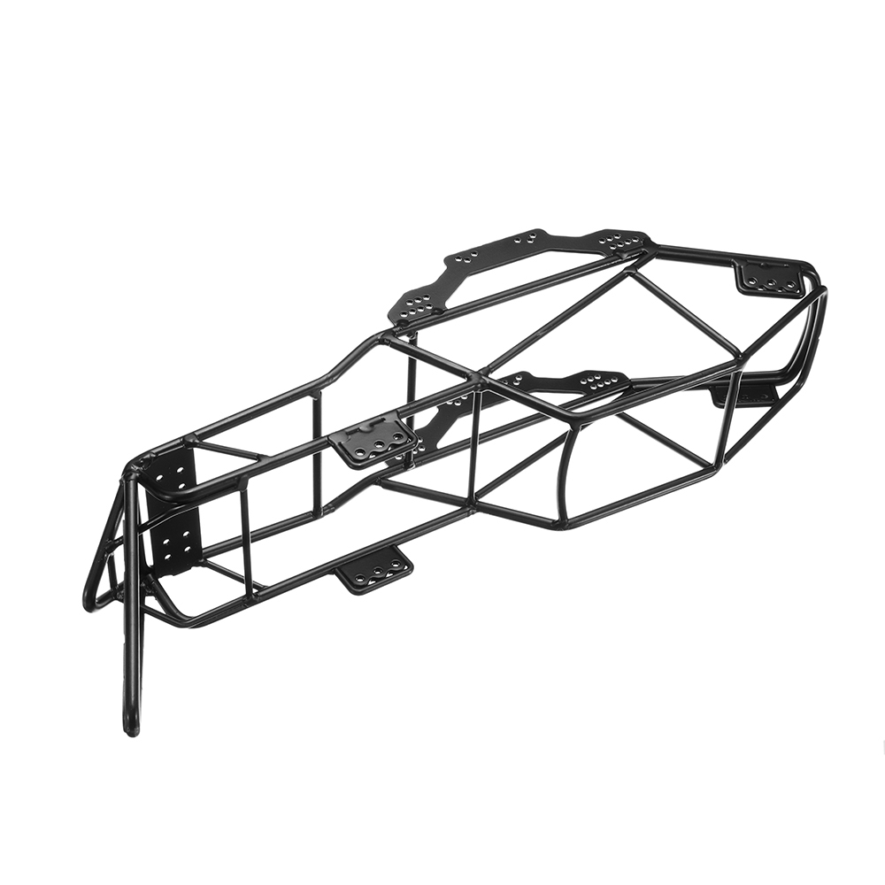 RC Car Parts Steel Frame Body Roll Cage Black For 1/10