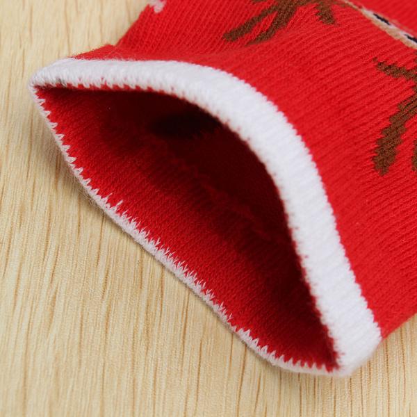 Women Ladies Christmas Santa Clause Reindeer Pattern Long