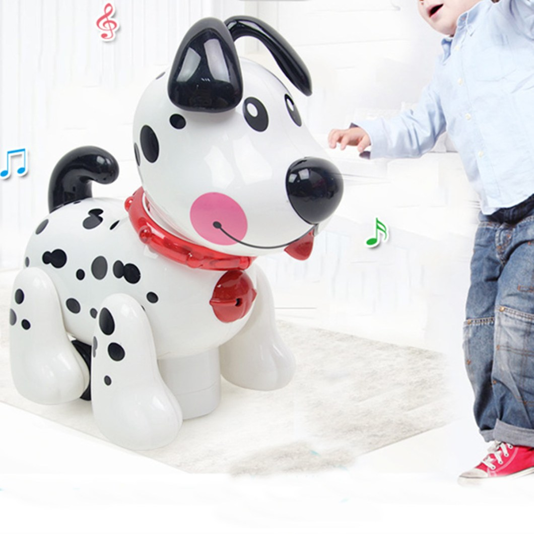 Smart Storytelling Robot Dog Sing Dance Walking Talking Dialogue pet Toy IR RC 32