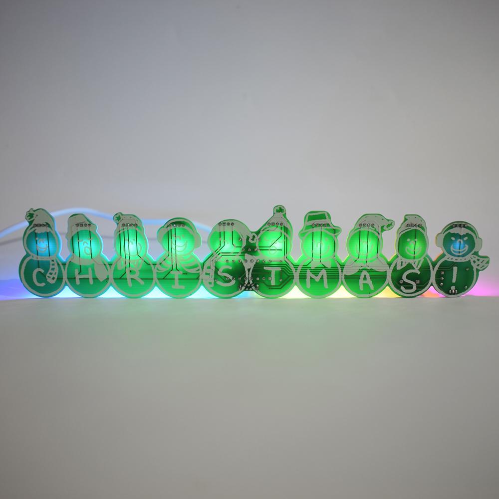 3pcs Geekcreit® DIY Full Color Christmas Snowman Music Box Kit 35