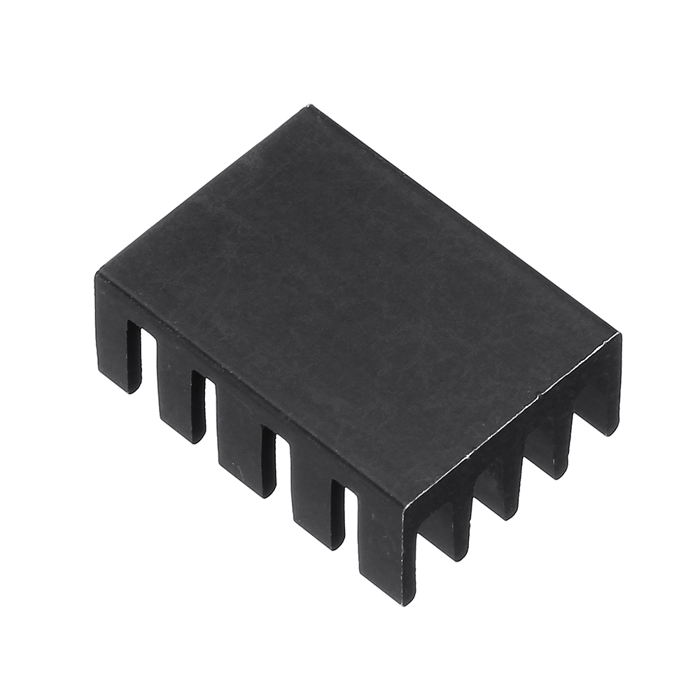 100Pcs 19x14x7mm Heat Sink Chip Special Radiator Aluminum Heat Conduction 38