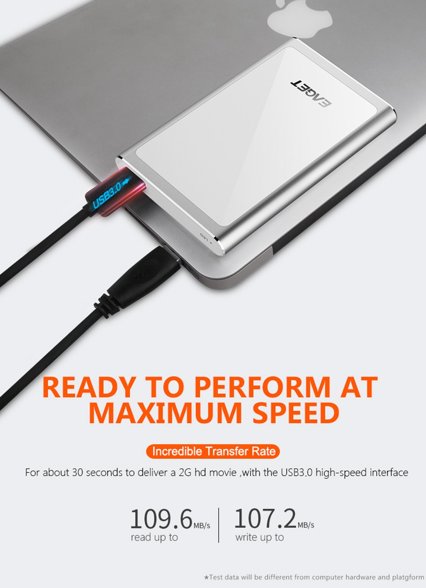 EAGET G90 USB 3.0 Full Encryption External Hard Drive 1TB 2TB Hard Disk 27