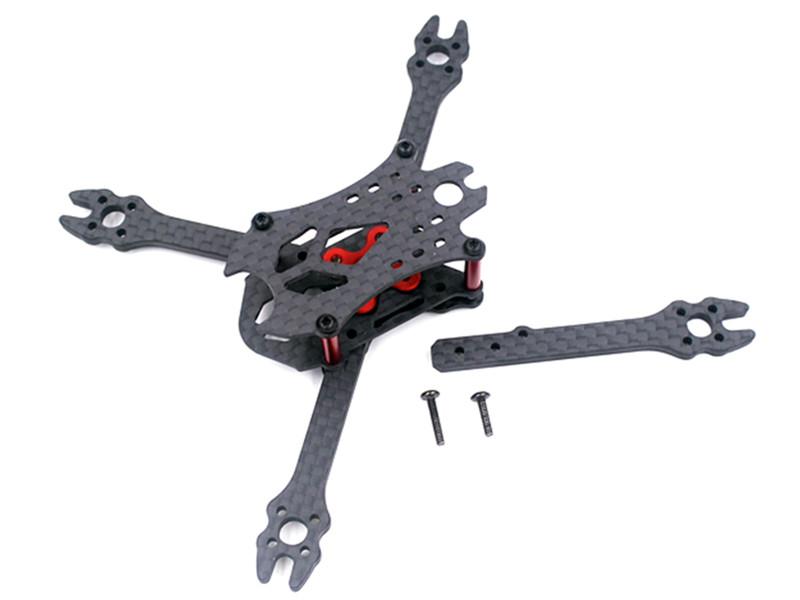 VX110 110mm Interasse 3mm Braccio 3K Fibra di Carbonio X Tipo Kit Telaio per RC Drone FPV Racing