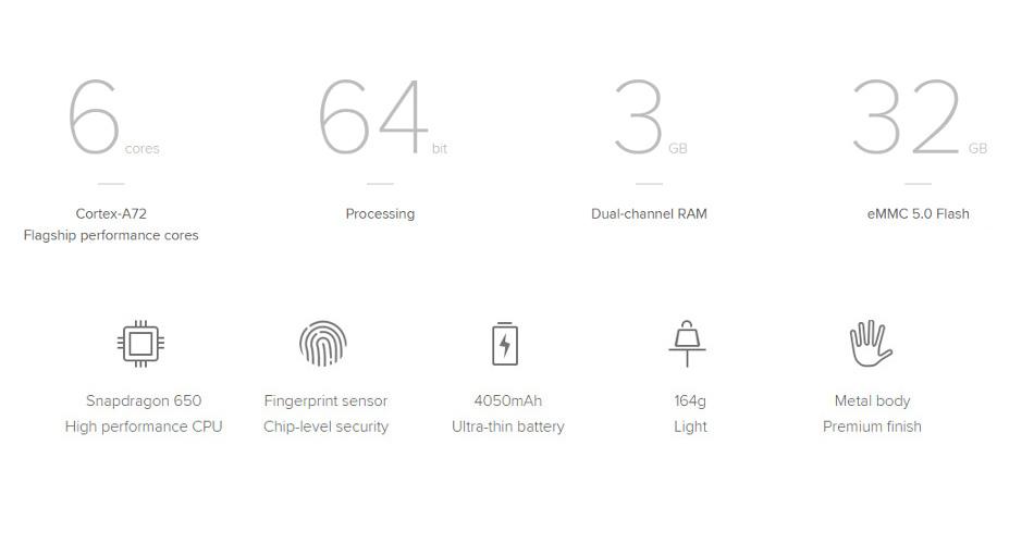 Xiaomi Redmi Note 3 Pro Global Edition 3GB RAM 32GB