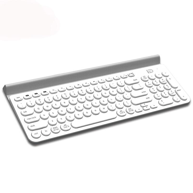 ultra thin mute 104 tasten wireless bluetooth keyboard