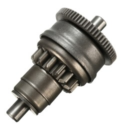 starter motor clutch gear assembly for gy6 49cc 50cc 139qmb scooter mopeds atv [ 1200 x 1200 Pixel ]