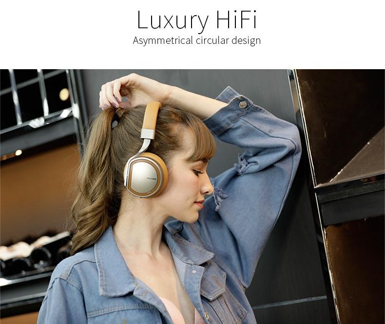 Plextone BT270 Wireless Bluetooth Headphone 800mAh 8G RAM MP3 Heavy Bass Headset for iPhone Samsung 17