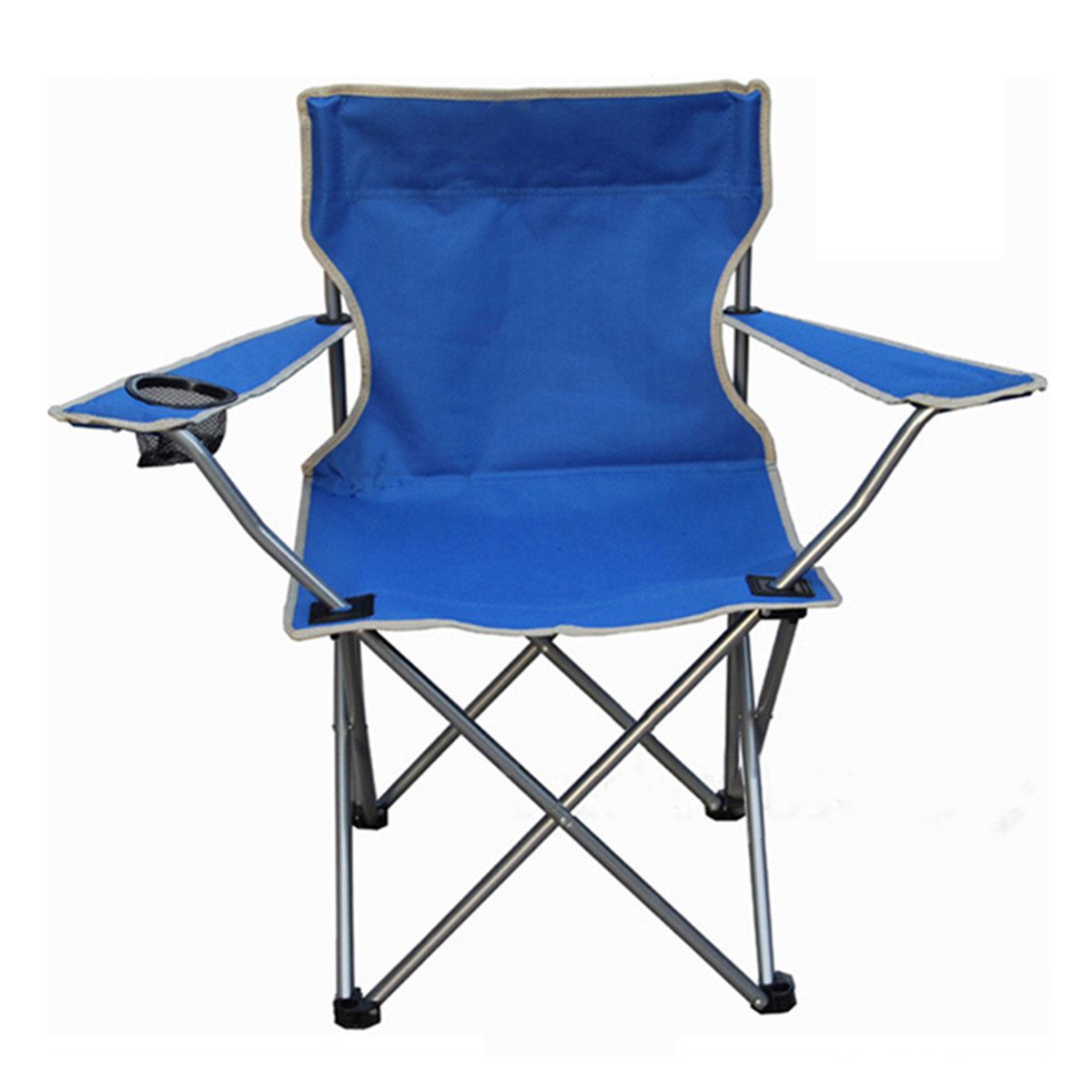 Picnic Chairs Outdoor Portable Folding Chair Fishing Camping Beach Picnic Chair Seat With Cup Holder