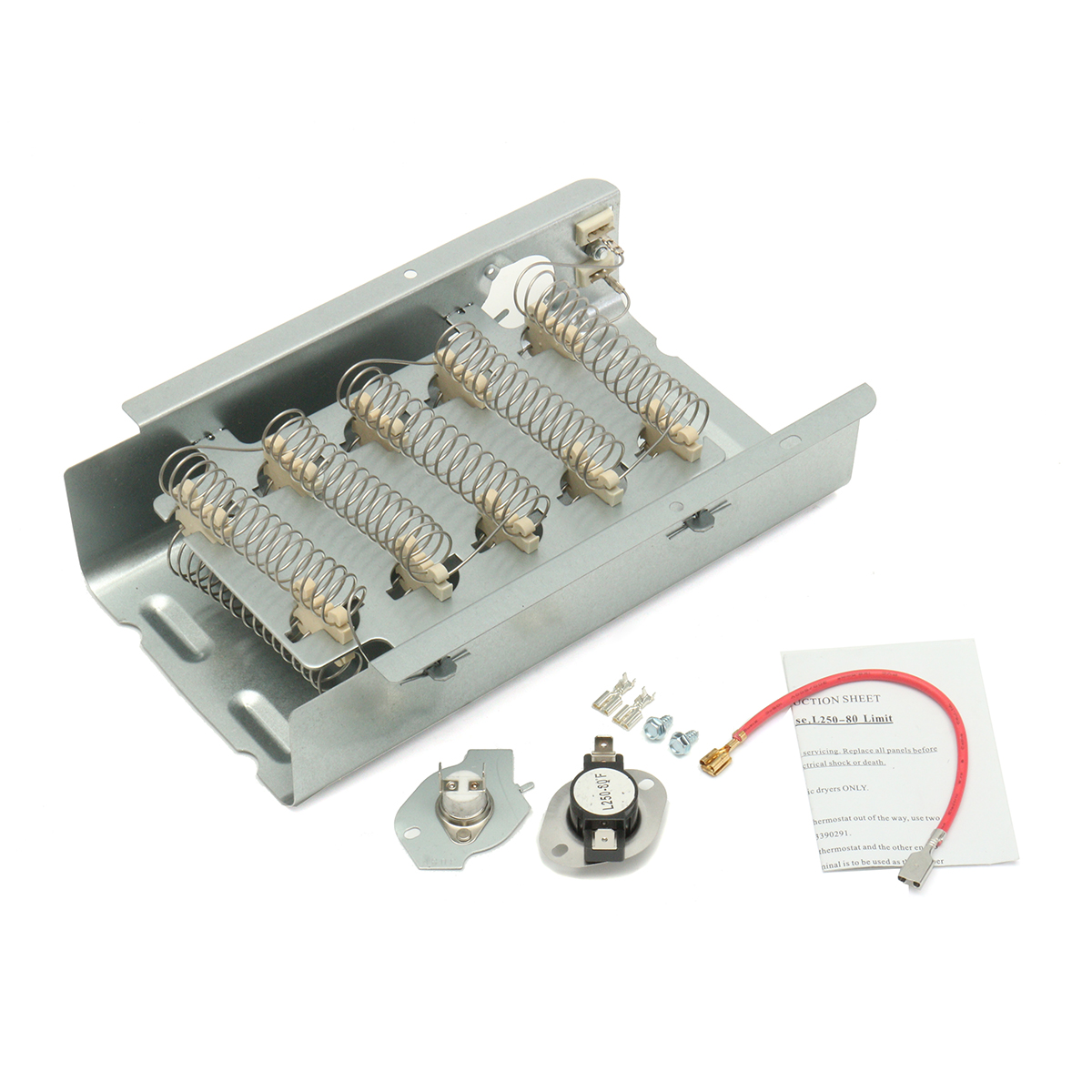 kenmore dryer operating thermostat 2001 ford focus fuse diagram 3403585 heating element kit for whirlpool