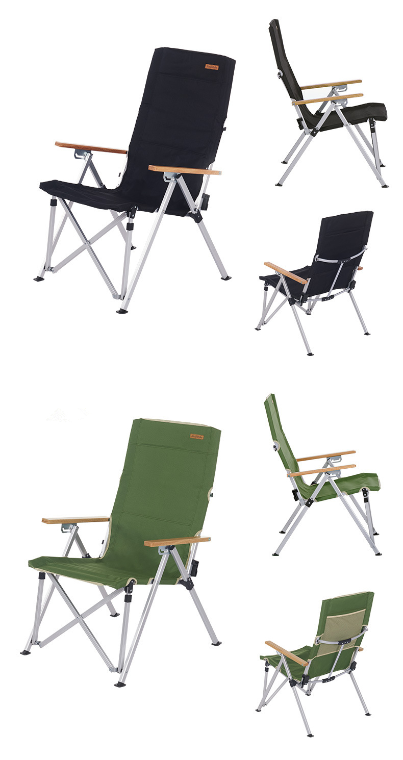Aluminum Folding Chair Naturehike Outdoor Camping Aluminum Folding Chair Max Load 120kg For Fishing Picnic Bbq