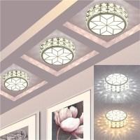 9W Modern LED Ceiling Lights Crystal Chandelier Pendant ...