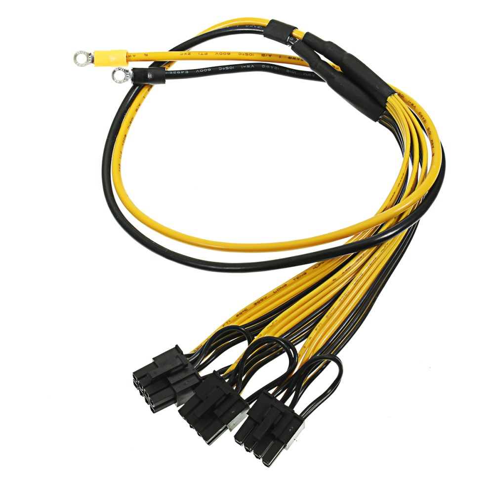 medium resolution of pci express graphics card connector pc power supply cable cpu molex 8pin to 2 pci