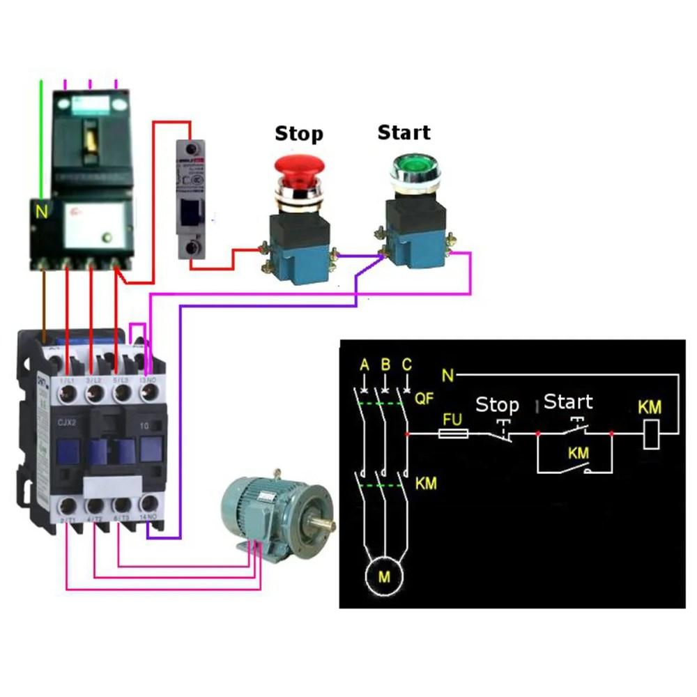 medium resolution of cjx2 1801 ac 220v 380v 18a contactor motor starter relay 3 pole 1nc