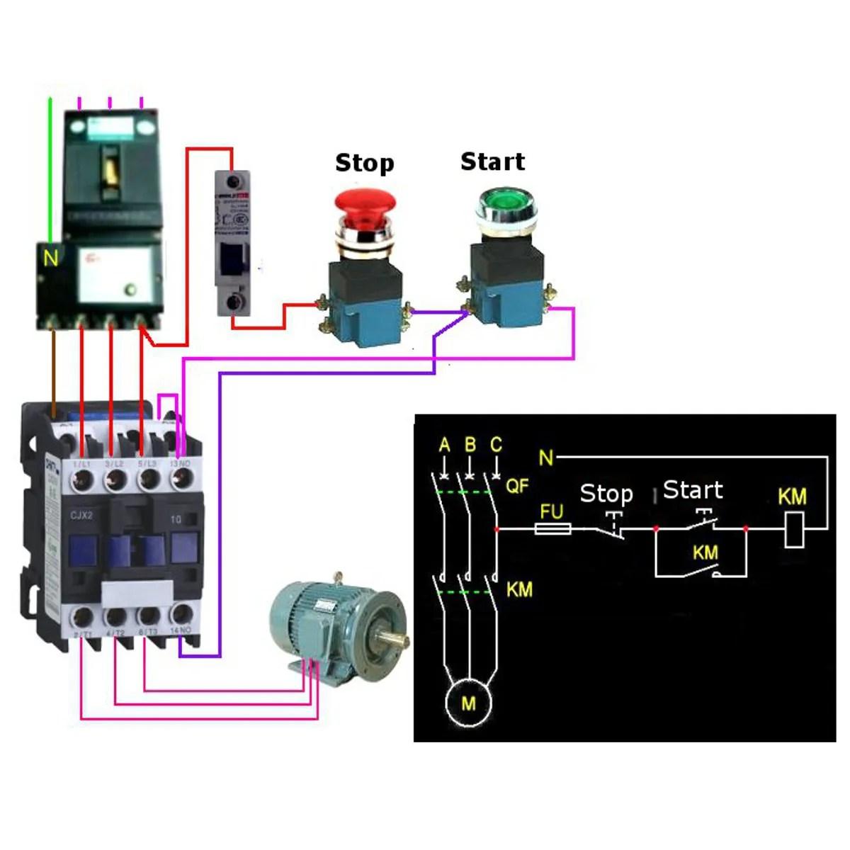 hight resolution of cjx2 1801 ac 220v 380v 18a contactor motor starter relay 3 pole 1nc
