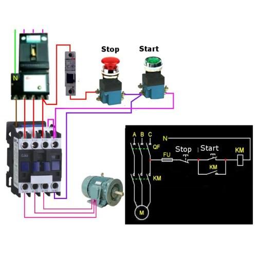 small resolution of cjx2 1801 ac 220v 380v 18a contactor motor starter relay 3 pole 1nc