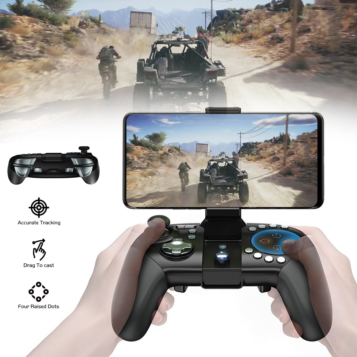 3Pcs Gamesir G5 Bluetooth Wireless Trackpad Touchpad Gamepad Mouse