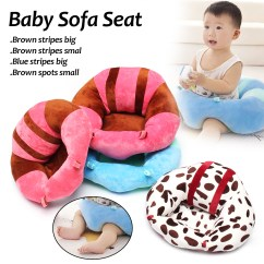 Baby Pillow Chair Wood High For Sofa Support Seat Nursing Safety Feeding