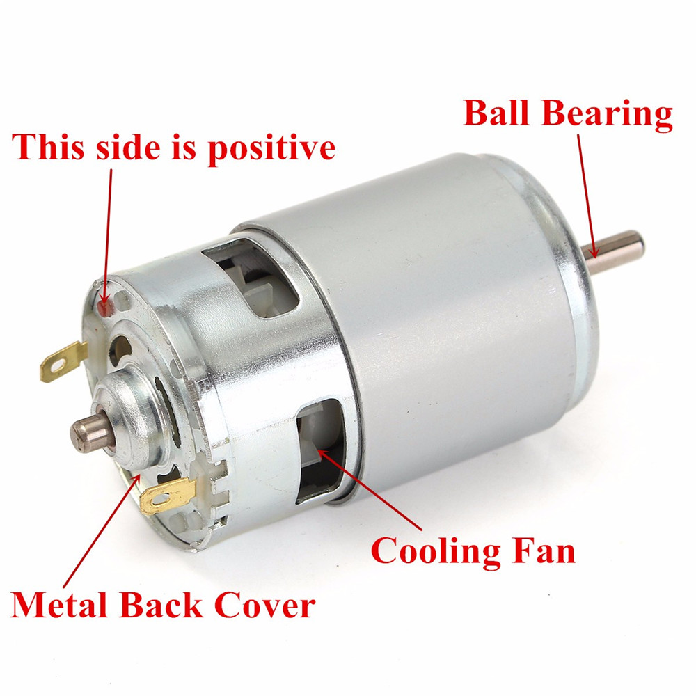 775 Motor DC 12V-36V 3500-9000RPM Motor Large Torque High Power Motor 22