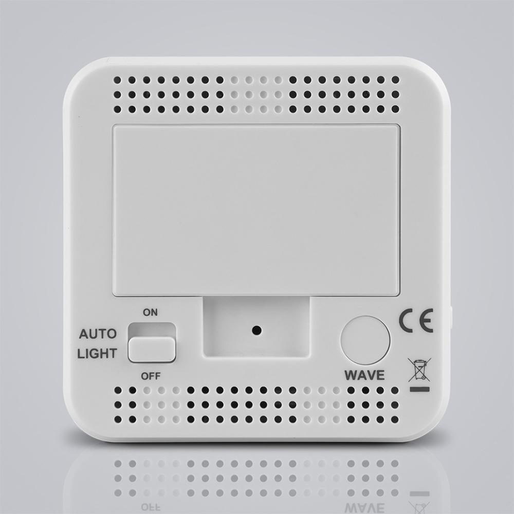 fanju fj3533 lcd digital alarm clock indoor temperature