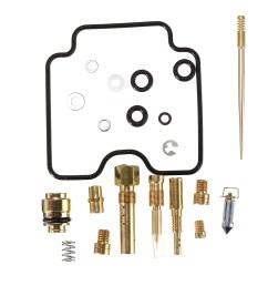 carburetor carb rebuild kit repair for yamaha yfm400 bi [ 1200 x 1200 Pixel ]
