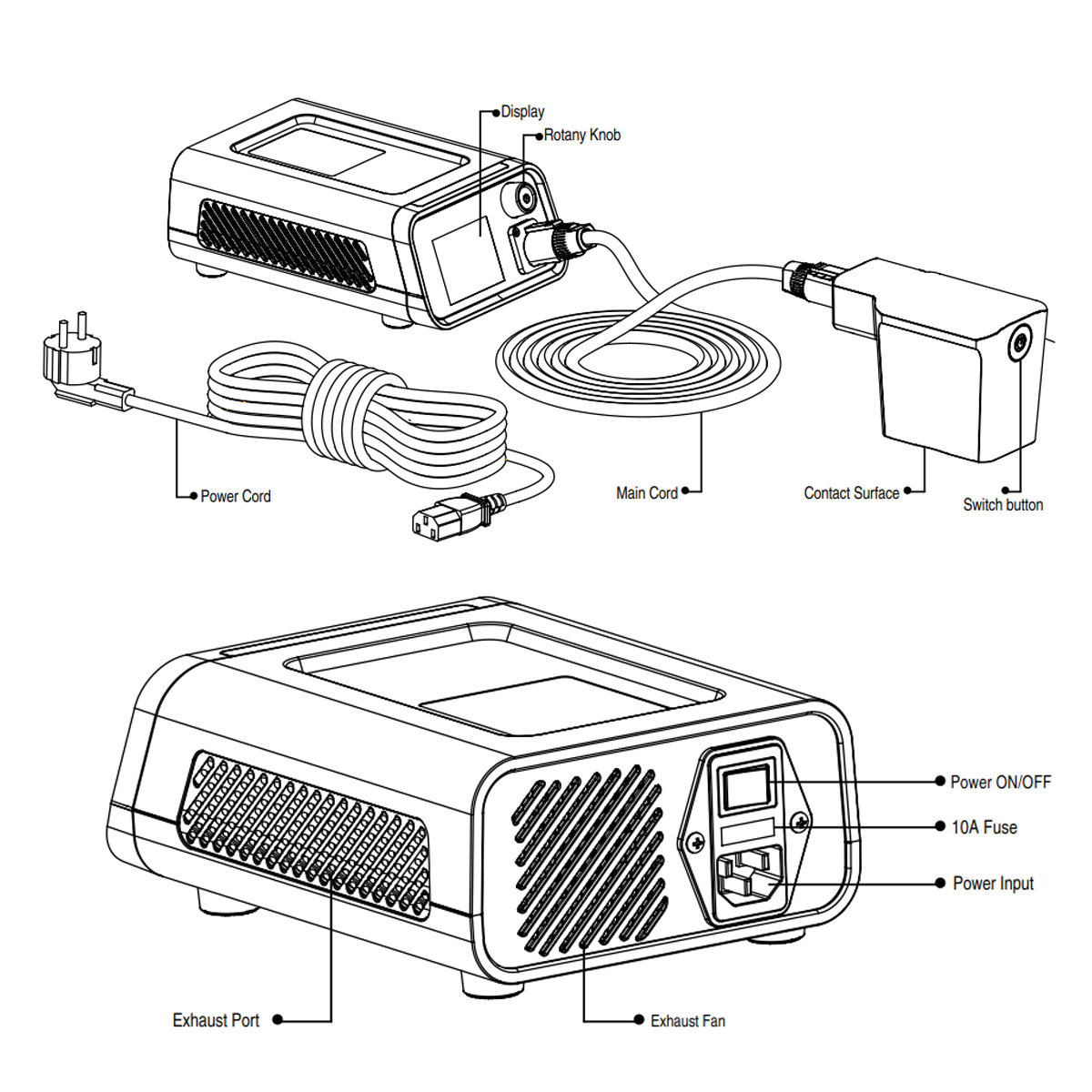 New WOYO PDR009 1500W Induction Heater Paintless Dent