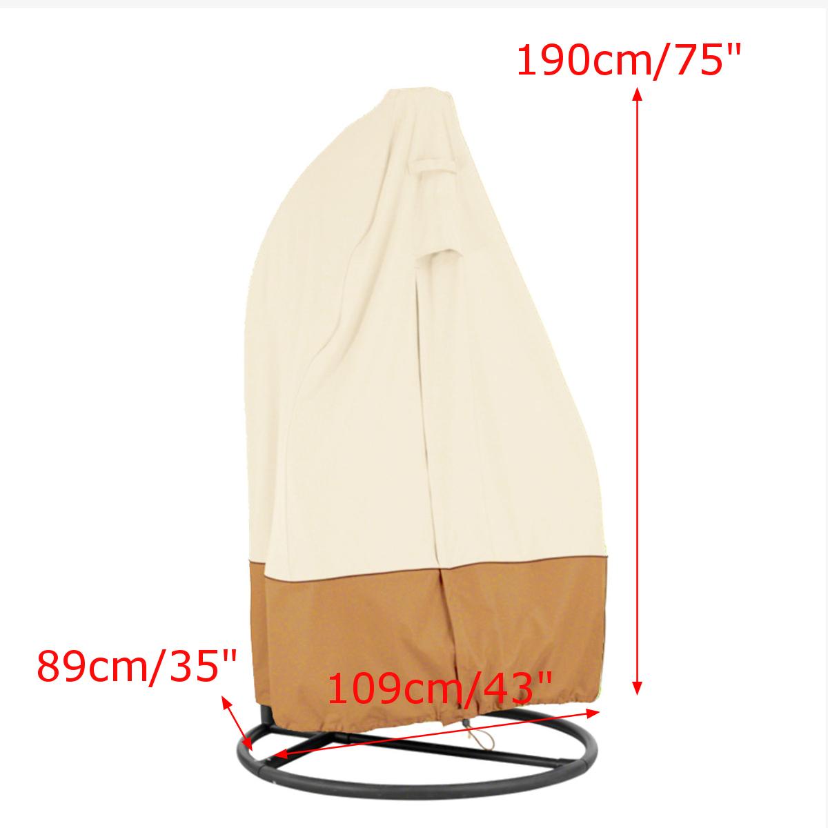 hanging chair cover wheelchair repair outdoor waterpoof uv oxford swing dust