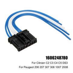 Citroen C4 Tailgate Wiring Diagram 2005 Freightliner Columbia Rear Tail Light Loom Harness Connector For Peugeot