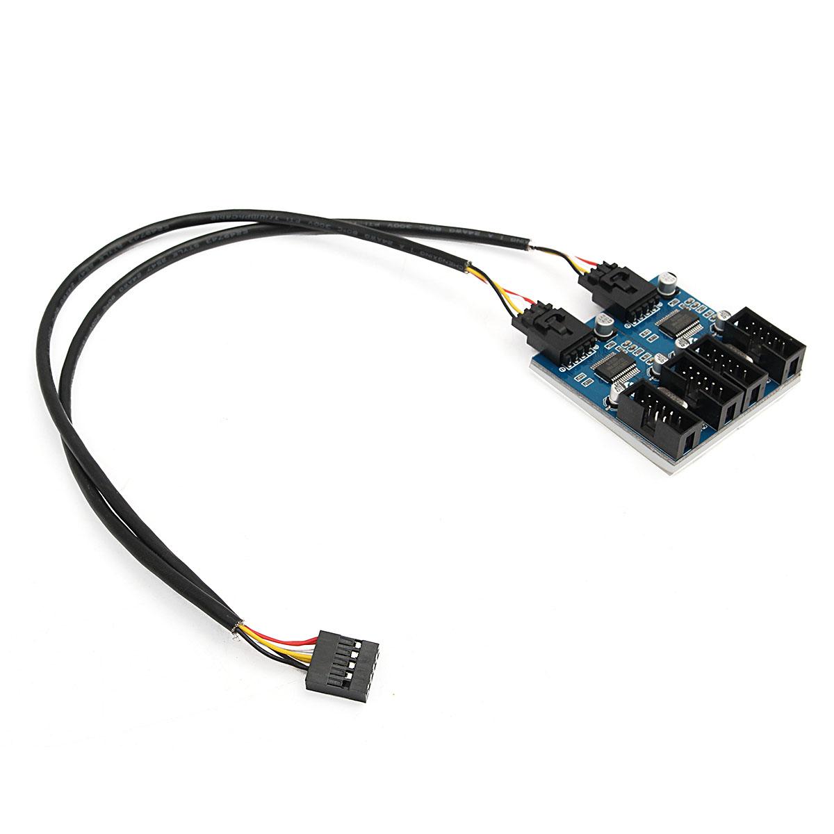 cavo splitter estensione usb a 9 pin connettore header